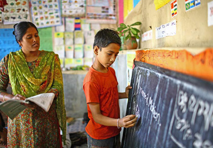 Literacy for Indian children