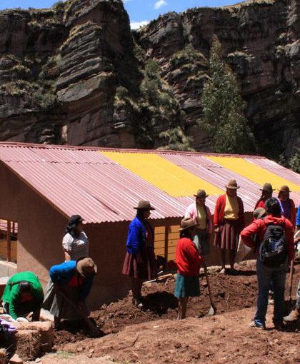 Building schools in Nepal